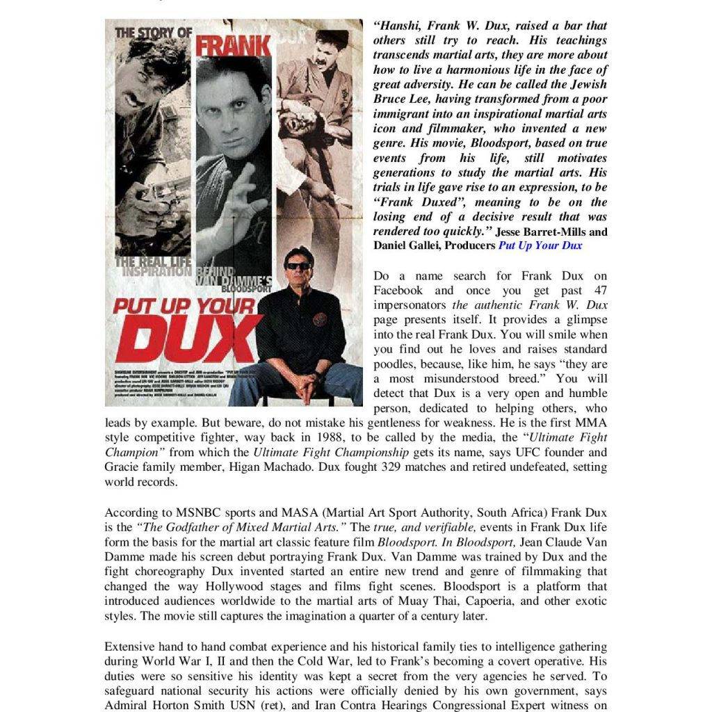 Frank Dux The Warrior Secure Page 002